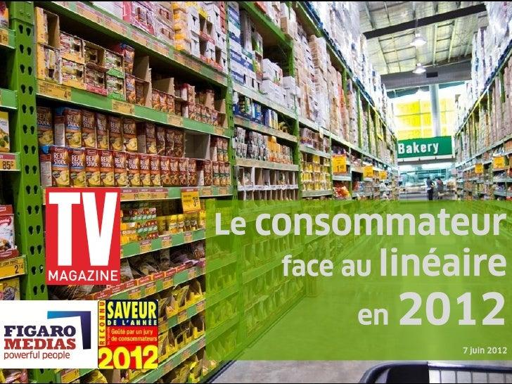 Le consommateur face au linéaire en 2012_juin2012
