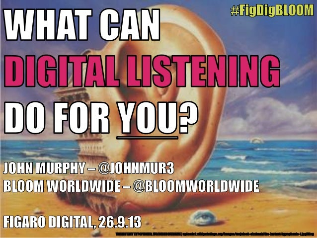 What Digital Listening Can Do for You?