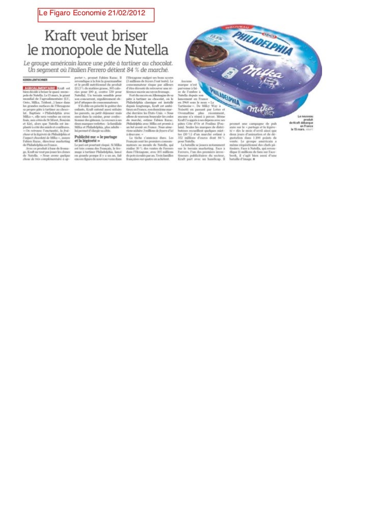 Le Figaro Economie 21/02/2012