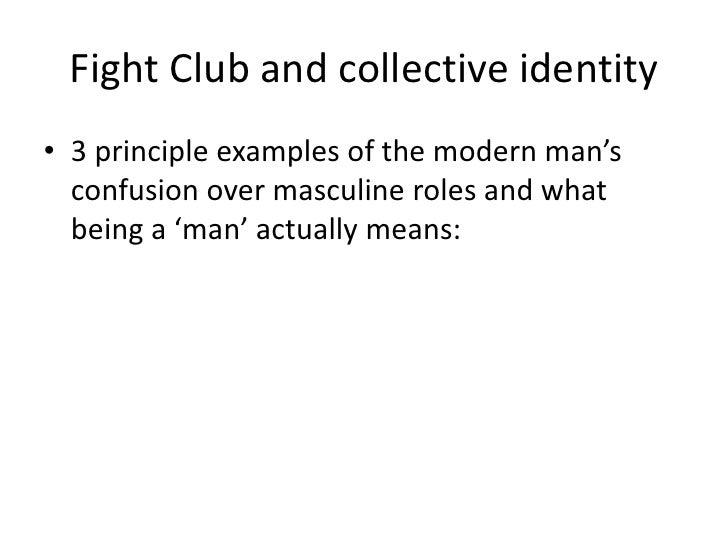fight club masculinity essay example