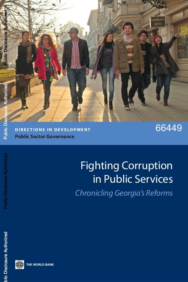 Fighting Corruption in Public Services