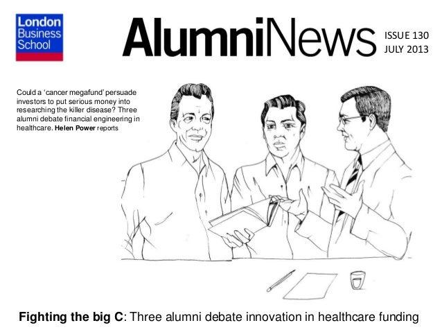 Fighting the Big C - Alumni News