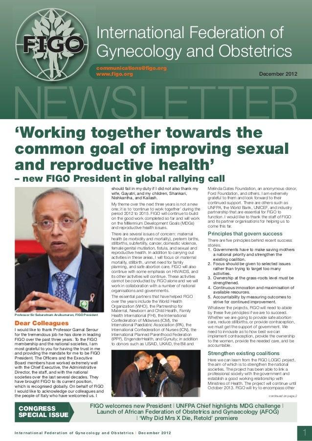Figo newsletter december 2012