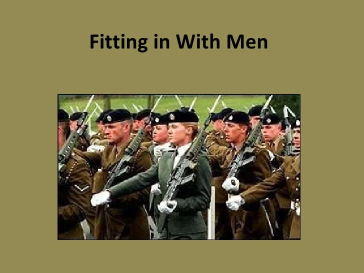 Fitting in With Men