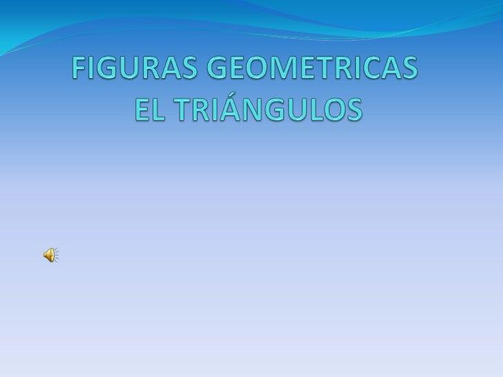 TRIÁNGULOSTRIÁNGULO es un polígono de tres LADOS, que vienedeterminado por tres puntos no colineales llamados VÉRTICES.Cla...