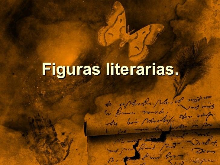 Figuras literarias.