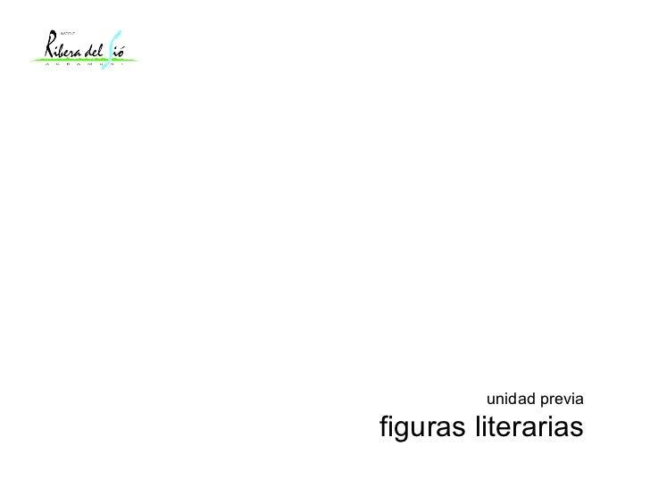 unidad previa figuras literarias