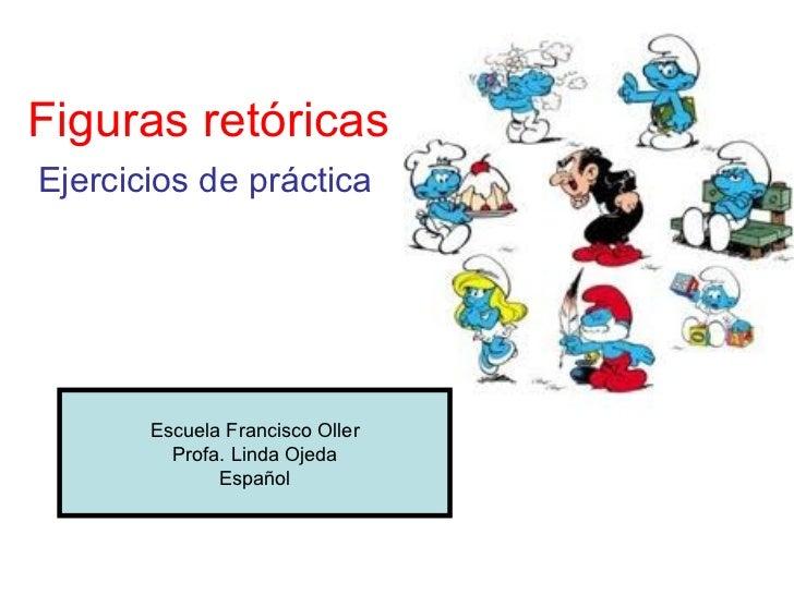 Figuras retóricas   ejercicios