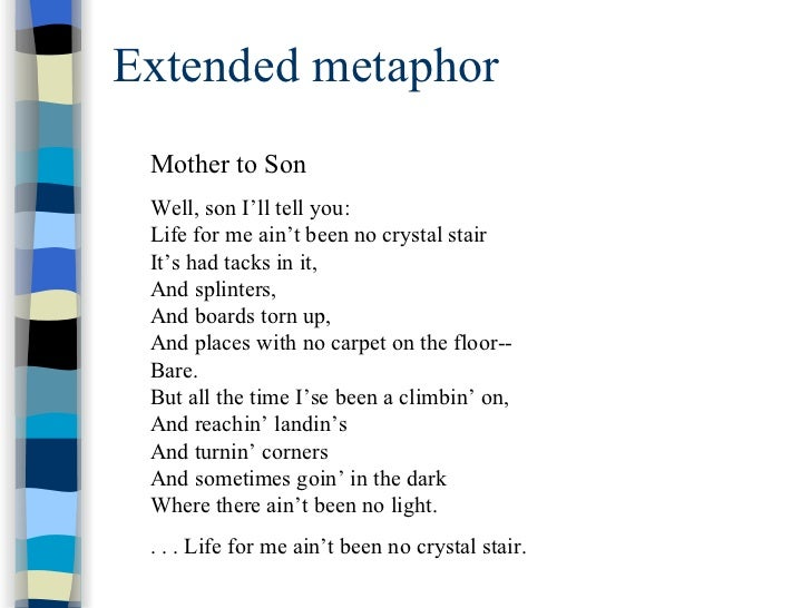 metaphor essay life Free essay on an essay on metaphors available totally free at echeatcom, the largest free essay community new to a conceptual metaphor for life.