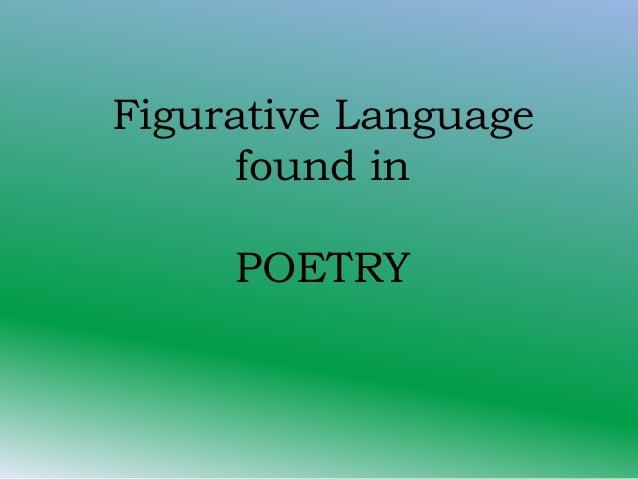robert frost figurative language essay Written in 1939, robert frost's essay is combative, ironic, cryptic, delightful, damning of scholars and, for aspiring poets, encouraging of both a formal awareness and a cavalier attitude.