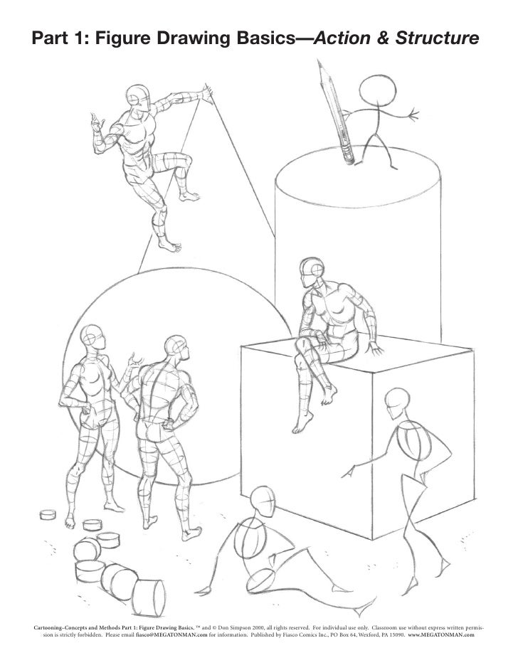 Part 1: Figure Drawing Basics—Action & Structure                                                                          ...
