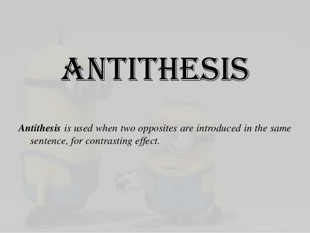Examples of Antithesis - YourDictionary