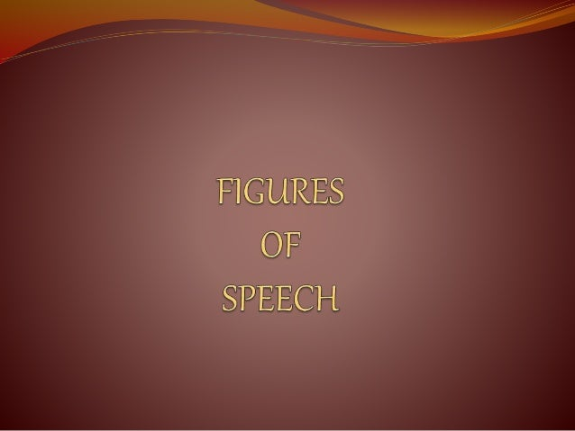 Figure of Speech Examples