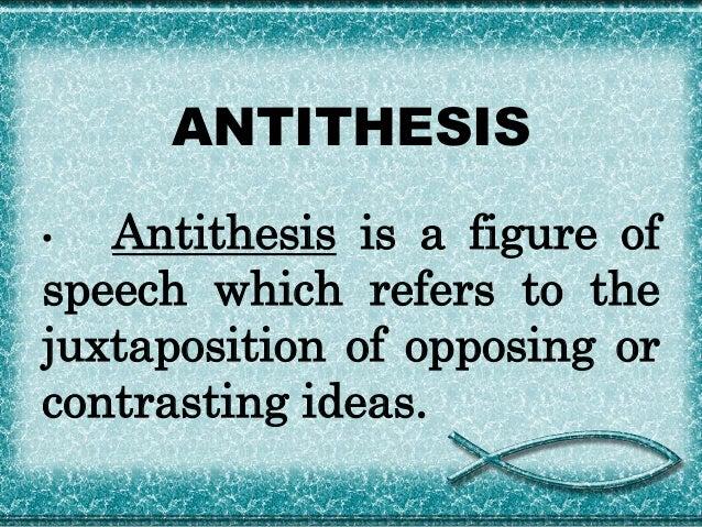 Antithesis definition