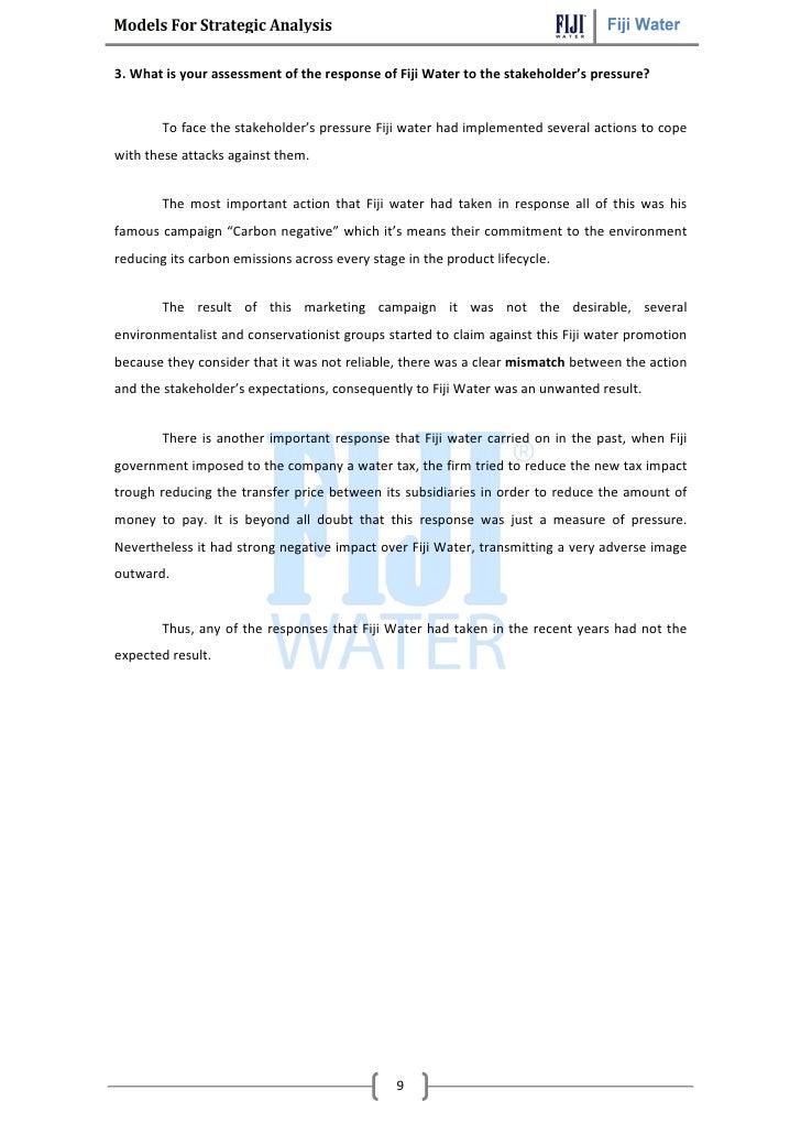 fiji water case study harvard (700 word min) assignment 2: fiji water case package information-gathering tools communication case study website design assessment criteria harvard.