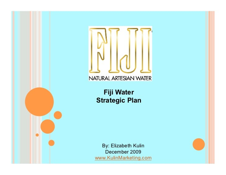 Fiji Water Strategic Plan