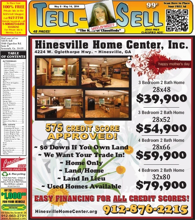 Free Issue - May 8 - May 14, 2014-Tell N Sell