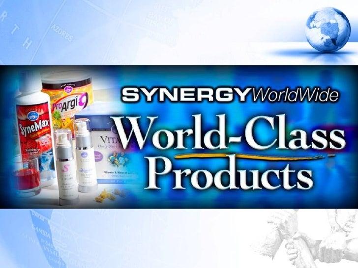 Produk-produk Synergy WorldWide