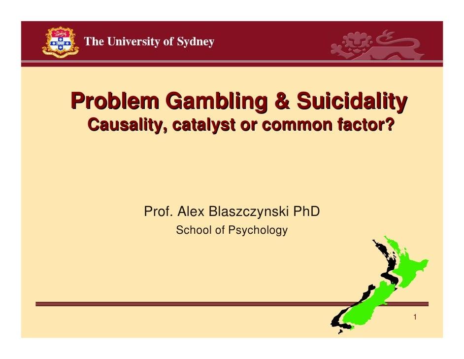 Gambling addiction factors
