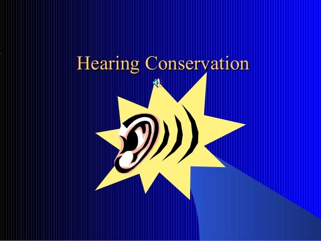 Hearing Conservation Training by BGSU