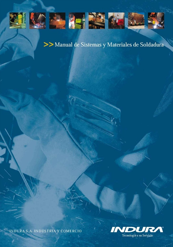 MANUAL DE SOLDADURA INDURA
