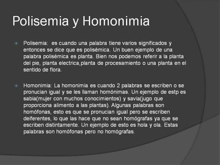 Polisemia, Homonimia, Sinonimia, Antonimia, Palabras tabu, Palabras malsonantes, Eufemismos, Cambio Semantico y Ampliacion...