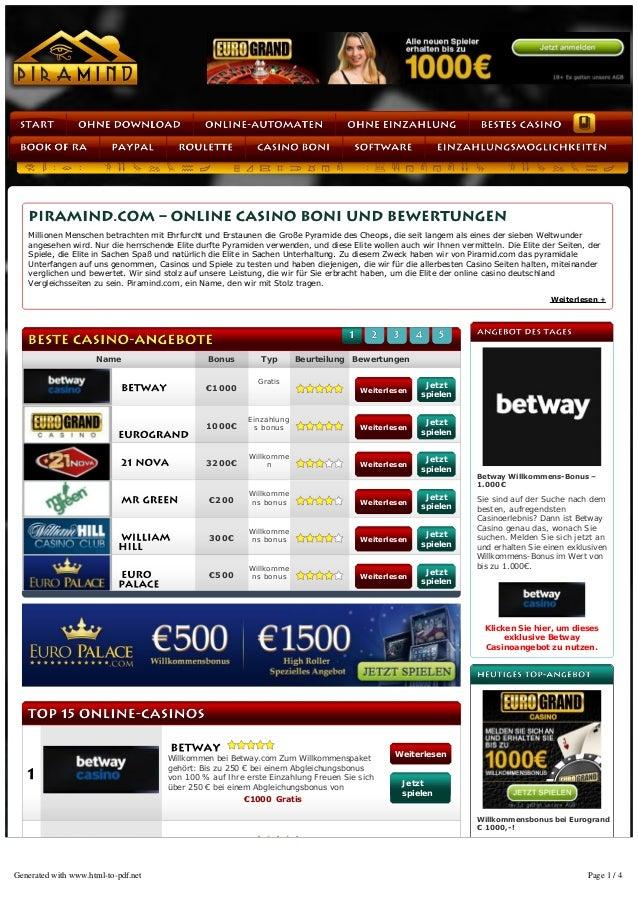 Name Bonus Typ Beurteilung Bewertungen Willkommen bei Betway.com Zum Willkommenspaket gehört:Biszu250€beieinemAbgle...