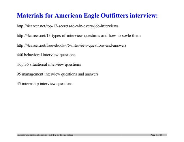 Im applying for American Eagle store, whats the best answer to put as career objectives?