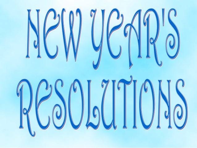 File 6    new year's resolutions