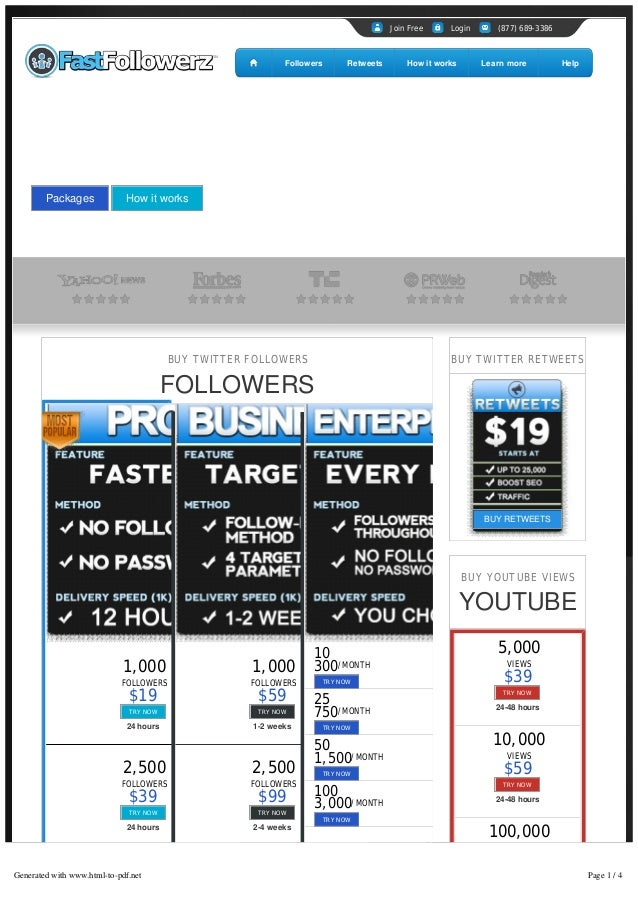 Fast Followerz™ | Buy Twitter Followers