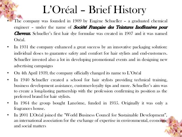 l oreal pest analysis Current situational analysis pest analysis of l'oreal's macro  environment pest analysis for l'oreal's macro.