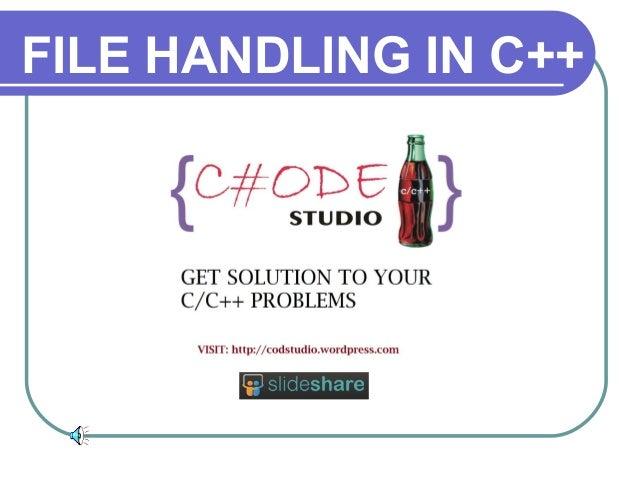 Filehandlinging cp2