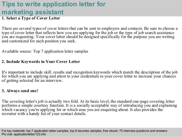 Application Letter Questions