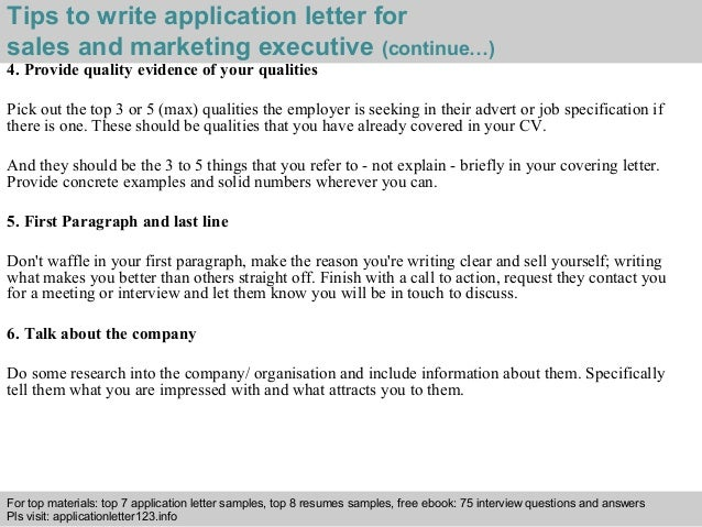 electronic cover letter sample