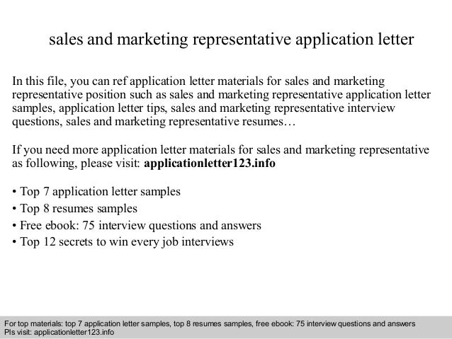 Resume examples for sales and marketing