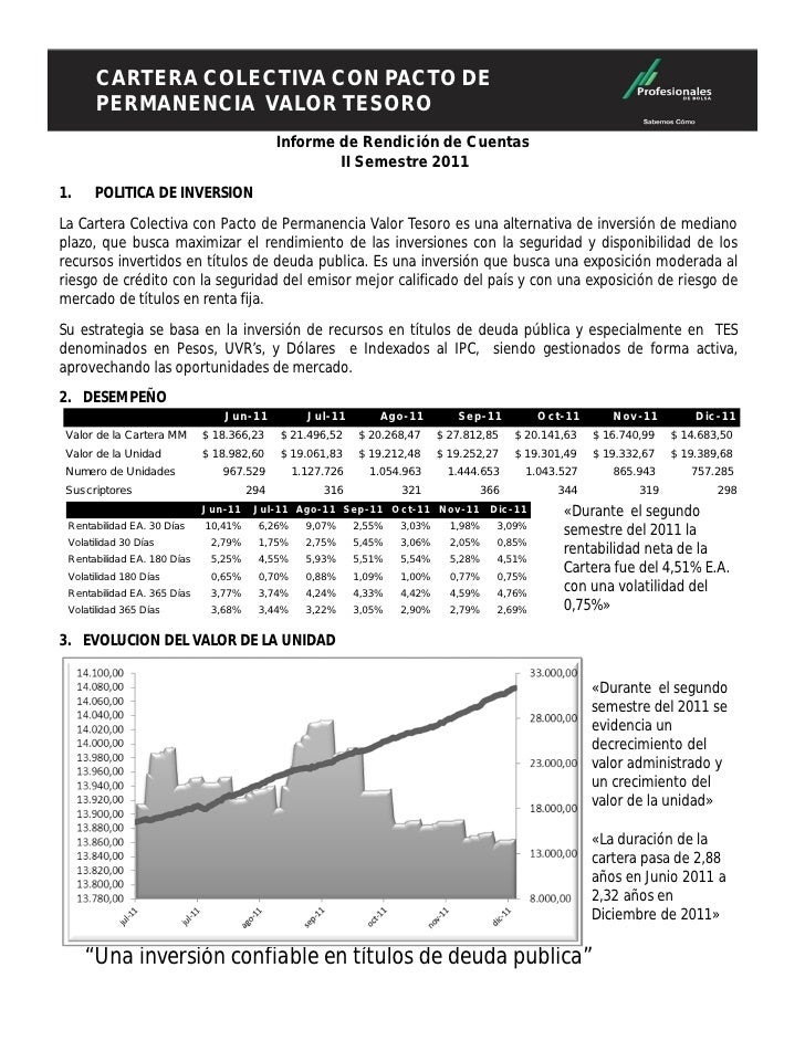 CARTERA COLECTIVA CONDE PERMANENCIA        CARTERA COLECTIVA CON PACTO        VALOR TESORO                                ...