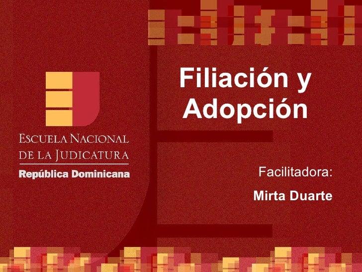 ENJ-2-400-Derecho Civil Sustantivo - Filiación y Adopción