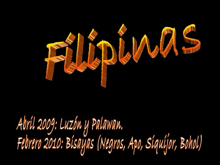 Filipinas. Isla de Palawan I
