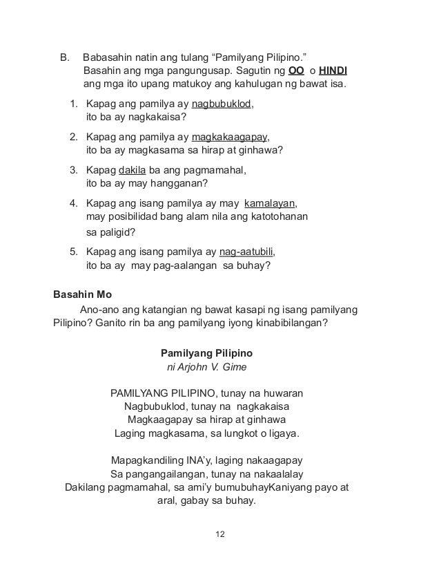 Halimbawa Ng Book Report Sa Filipino – 136155