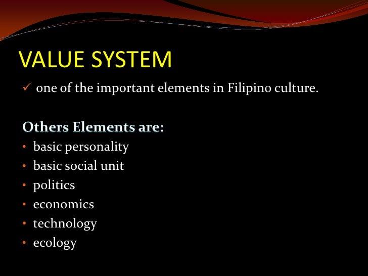 6 types of filipino value system