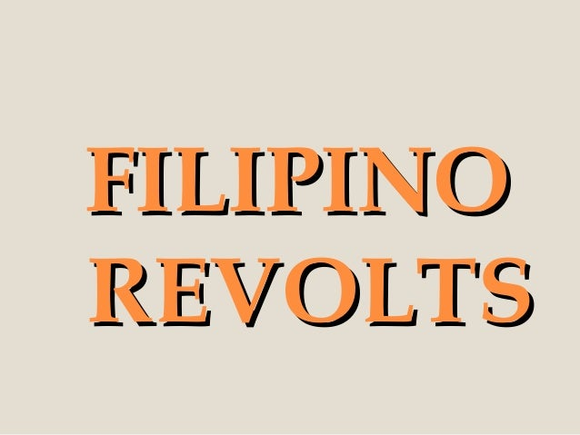 FILIPINOREVOLTS