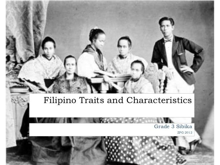 filipino values and traits essay