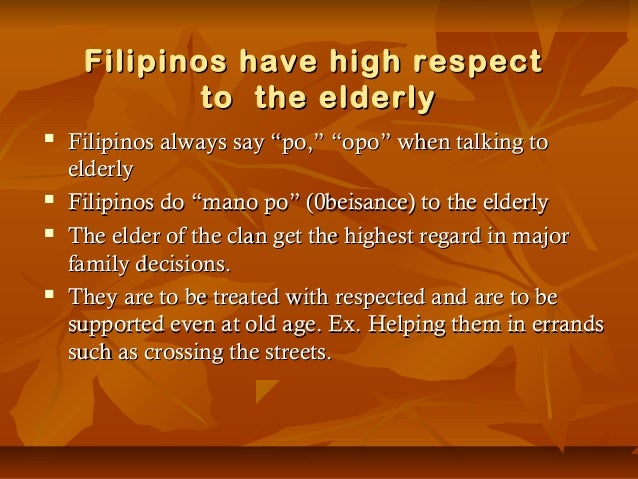 essay about filipino culture and values