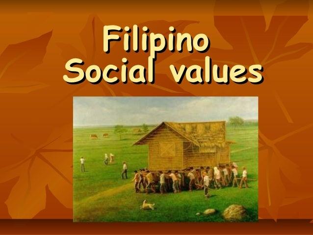 Filipino Values List 3 Filipino Social Values