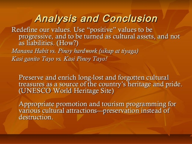 Culture Filipino Values Filipino Cultural Values