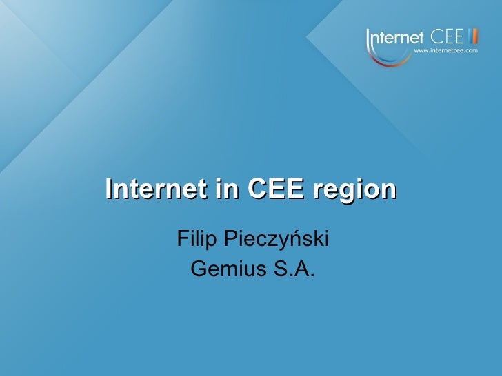 Internet in CEE region