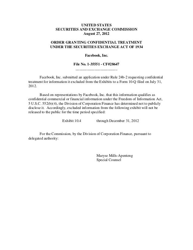 UNITED STATES                 SECURITIES AND EXCHANGE COMMISSION                              August 27, 2012             ...