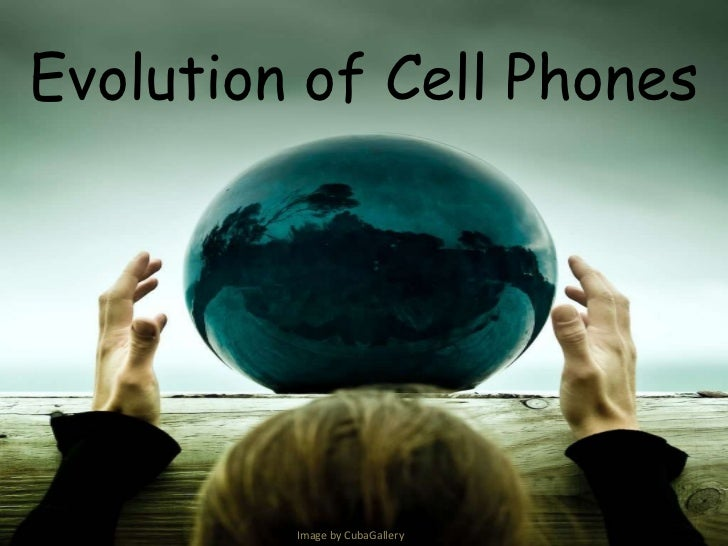 Evolution of Cell Phones<br />Image by CubaGallery<br />