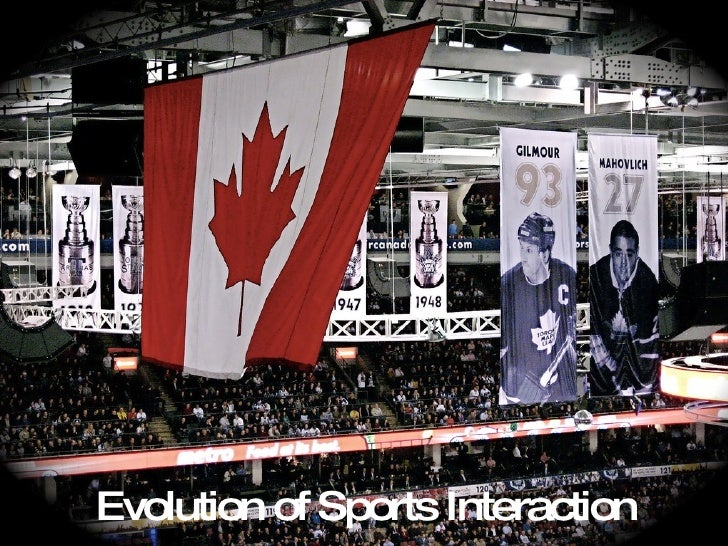 Evolution of Sports Interaction