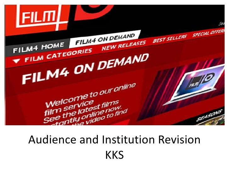 Audience and Institution Revision              KKS